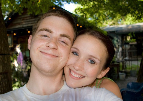 Andrew and his wife, Sarah