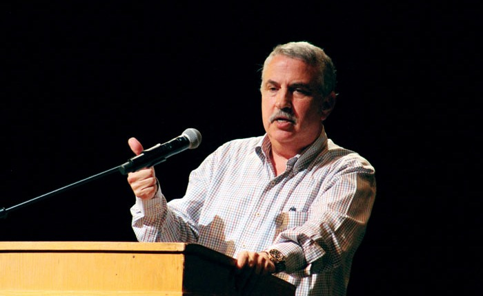 A Summary on an Evening with Thomas Friedman