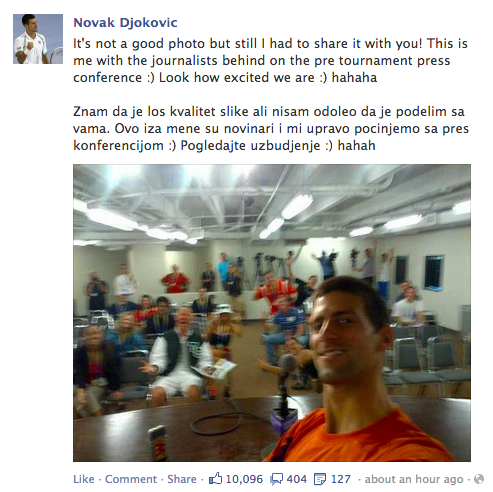 Djokovic photo