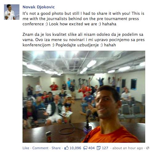 Djokovic photo
