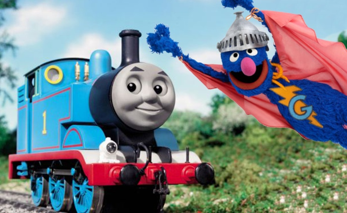 Thomas versus Super Grover